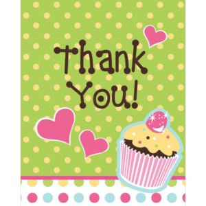 Sweet Treats Thank You Notes 8ct