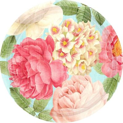 Blissful Blooms Dinner Plates 18ct