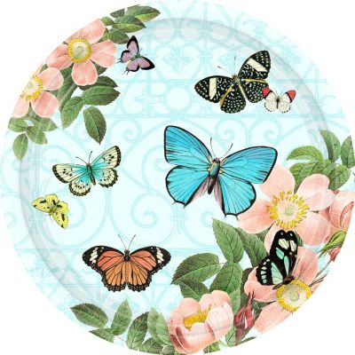Butterfly Dreams Dinner Plates 18ct