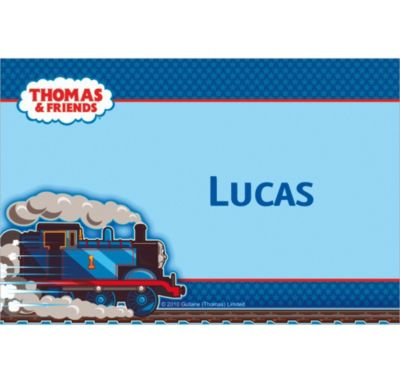 Thomas the Tank Engine Custom Thank You Note