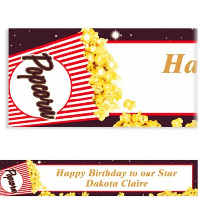 Movie Night Custom Banner