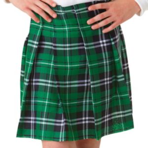 Child Green Plaid Kilt