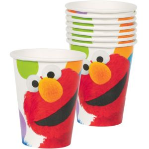 Sesame Street Party Cups 8ct