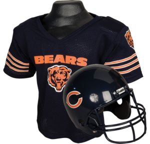 Child Chicago Bears Helmet & Jersey Set