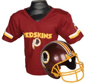 Child Washington Redskins Helmet & Jersey Set