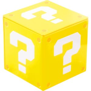 Super Mario Candy Coins Question Block Tin