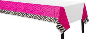 Zebra Party Table Cover