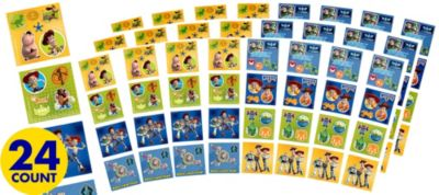 Toy Story Sticker Square Packets 24ct
