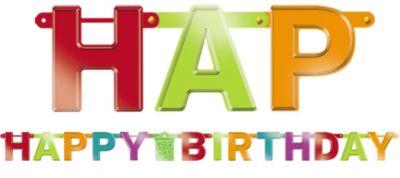 Birthday Fever Birthday Banner
