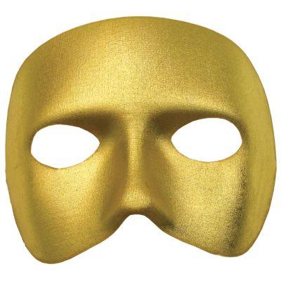 Gold Casanova Masquerade Mask