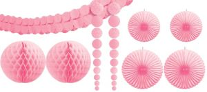 Light Pink Party Decorating Kit 9pc