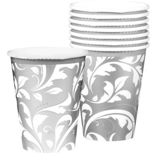 Silver Wedding Cups 9oz 8ct