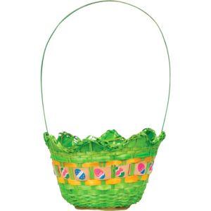 Green Egg Shaped Easter Basket
