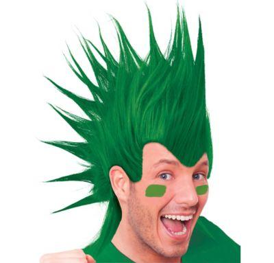 Green Mohawk Wig