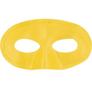 Yellow Fabric Eye Mask
