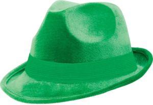 Green Suede Fedora