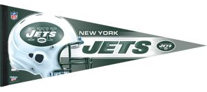 Premium New York Jets Pennant Flag