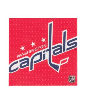 Washington Capitals Lunch Napkins 16ct