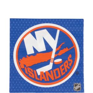 New York Islanders Lunch Napkins 16ct