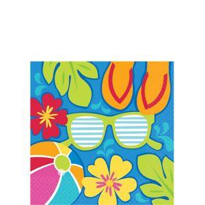 Summer Splash Beverage Napkins 36ct