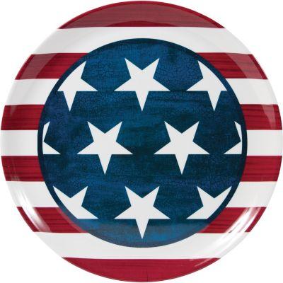 American Flag Platter