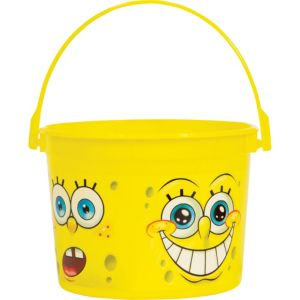 SpongeBob Favor Container 4 1/2in