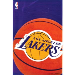 Los Angeles Lakers Favor Bags 8ct