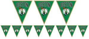 Boston Celtics Pennant Banner