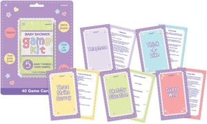 Baby Shower Game Kit 5pc