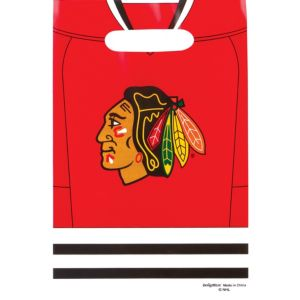 Chicago Blackhawks Favor Bags 8ct