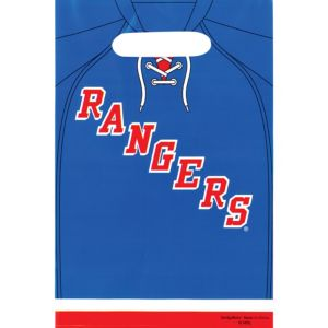 New York Rangers Favor Bags 8ct