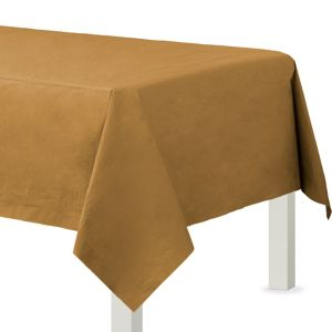 Gold Paper Table Cover
