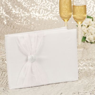 Vintage Glamour Wedding Guest Book