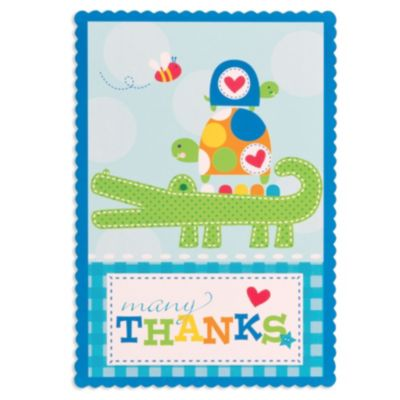 Ahoy Baby Boy Thank You Notes 8ct