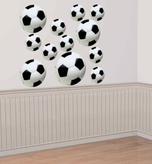 Soccer Cutouts 12ct