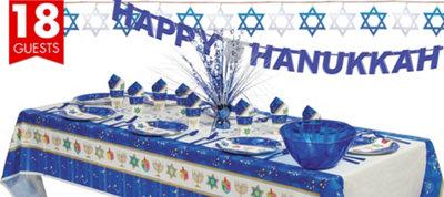 Hanukkah Celebrations Deluxe Party Kit