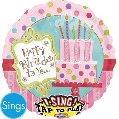 Happy Birthday Balloon - Singing Sweet Stuff