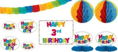 Add an Age Boy Birthday Decorating Kit 12pc