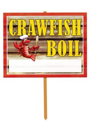 Crawfish Boil Yard Sign