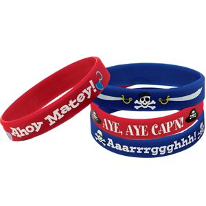 Pirate's Treasure Wristbands 4ct