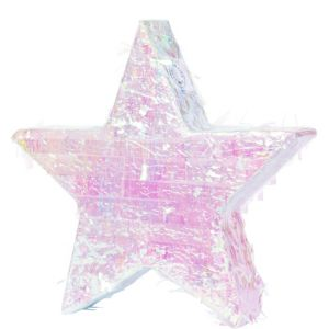 Foil Iridescent Star Pinata