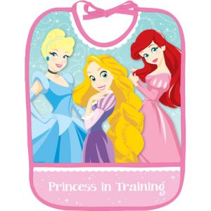 1st Birthday Disney Princess Bib