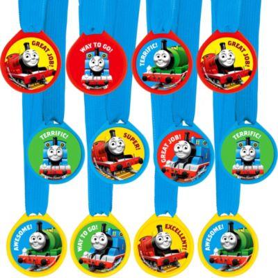 Thomas the Tank Engine Award Medals 12ct