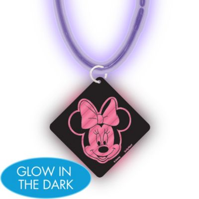 Minnie Mouse Glow Stick Necklace