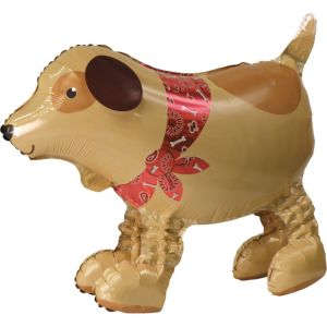 Gliding Dog Balloon 27in x 18in