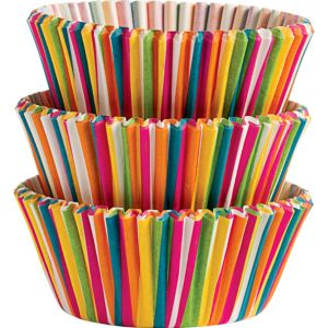 Color Wheel Baking Cups 75ct