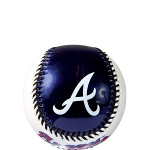 Atlanta Braves Soft Strike Baseball