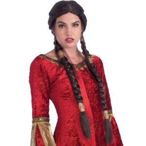 Medieval Maiden Wig
