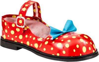 Adult Polka Dot Clown Shoes