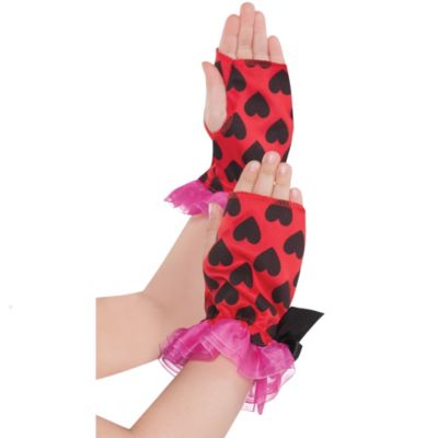 Child Lovebug Fairy Arm Warmers